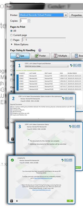 Secure Virtual Print